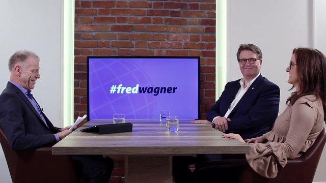 #fredwagner – Folge 3 – Martin Gräfer, Vorstand der Bayerischen / Rechtsanwältin Rita Reichard, Verbraucherschützerin